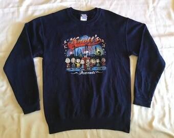 snoopy Peanuts knott's sweater / pullover / jumper Size L (14-16)