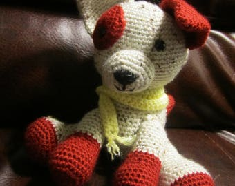 Handmade, Crocheted Puppy