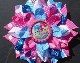 Shimmer and Shine Loopy Bow