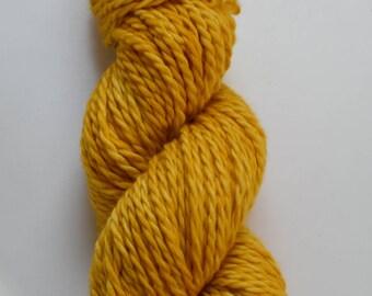 Hand dyed sock yarn: Gold Rush - Chunky - 100% Superwash Merino Wool, Handdyed yarn, Bulky yarn