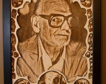George Romero - Portrait - Night of the Living Dead - Zombies