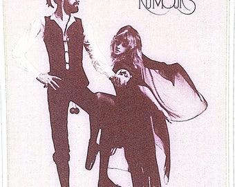 Vintage Fleetwood Mac Iron On / Vintage Tshirt  / Rock N Roll