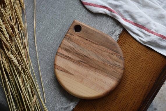 the Rain Drop   Ambrosia Maple bread board, cheese board, cutting board, serving board