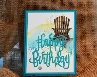 Handmade Birthday Card, StampinUp! Card