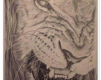 """pet portrait """"The LION"""""""