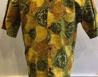 Vintage Hawaiian Men's Shirt