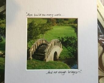Photograph:  bridges