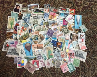 100 United States Postage Stamps
