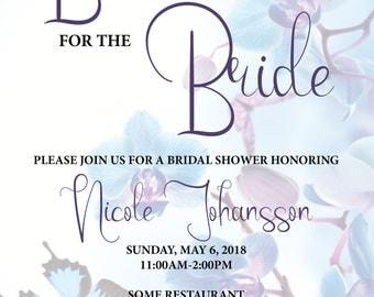 DIGITAL* Brunch for the Bride Bridal Shower Invitation