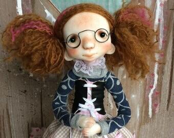 O.O.A.K. Art doll Moppiedoll Decorative doll Pita