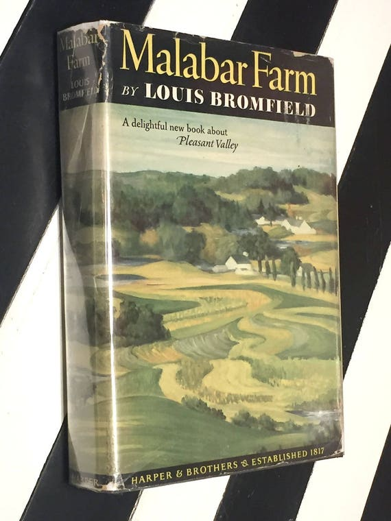 Malabar Farm by Louis Bromfield (1948) first edition book