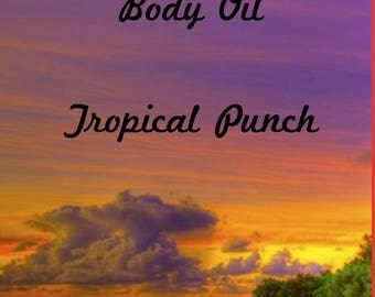 Tropical Punch Massage Oil
