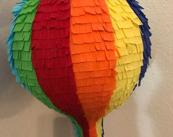 Hot Air Ballon Pinata. Party Decoration Supplies