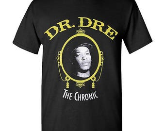 Dr. Dre the Chronic Hip Hop Legend Graphic T-shirts Tupac