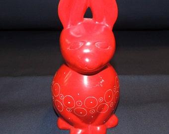 Heavy Red Rabbit