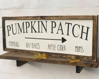 Pumpkin Patch Sign, Fall Sign, Farmhouse Fall Sign, Farmhouse Decor, Rustic Sign, rustic fall decor, thanksgiving decor