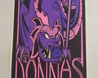 Martin The Donnas concert poster The Odeon