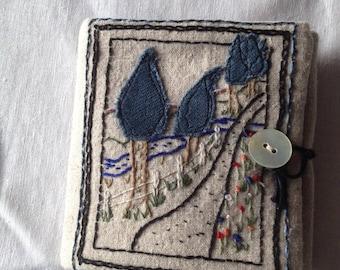 Travel sewing kit.