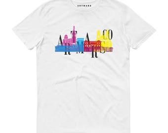 T-shirt Marseille Spots | Unisex | 100% cotton | Slim Fit | Vieux-Port - Joliette - Canebière - Prado - Corniche
