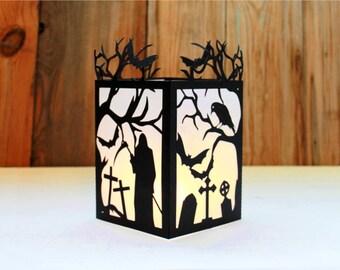 laser cut lantern etsy. Black Bedroom Furniture Sets. Home Design Ideas