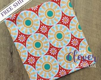 SALE! Quilting Fabric, Medallion Red, Ardently Austen, Amanda Herring, Riley Blake Designs, Yardage