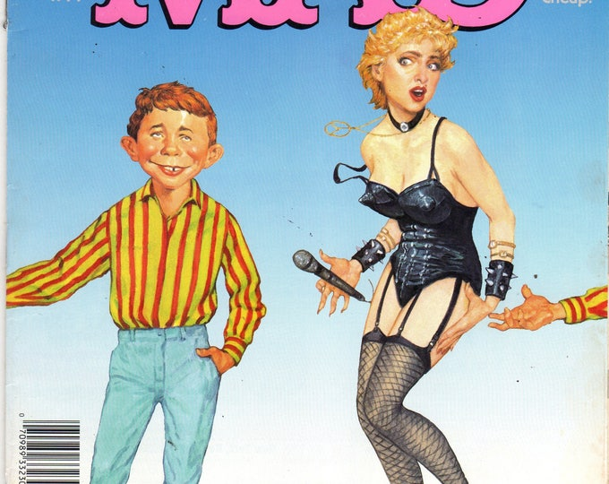 MAD Magazine #304 Alfred & Madonna July 1991 Issue
