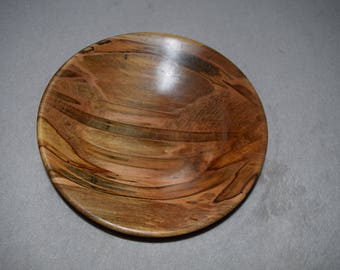 Wood Ambrosia Maple Bowl / Dish, Hand Made, Reclaimed