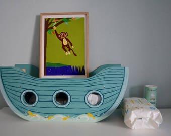 Cute Wall Art for Your Little Monkey's Nursery, Based on original papercut artwork, Green Nursery Ideas, Baby Shower Gift Idea