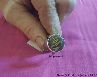 Peppermint Signet Ring