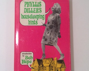 Vintage Signed Phyllis Diller's housekeeping hints 1966