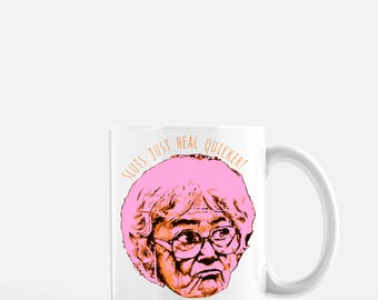 Sophia Golden Girls Coffee Mug // Sophia Petrillo  // Blanche Sophia Rose Dorothy // Thank you for being a friend // Coffee Cup // Coffee