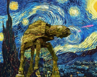 Starry Night Fabric Etsy