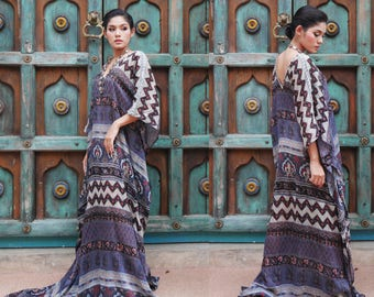 Indian Cotton Gauze Dress//India Boho Hippie Dress