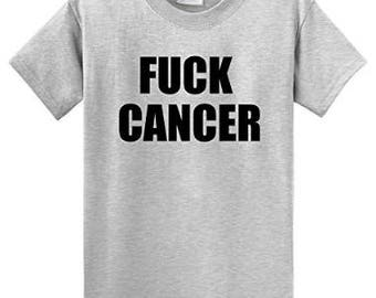 Fuck Cancer T-shirt - Support Cancer Research - Charity