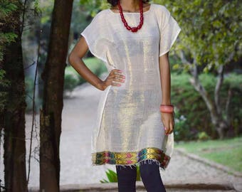 Ethiopian dress habesha dress Ethiopian clothing Ethiopian traditioal dress Kemisd