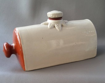 Ceramic warmer,  foot warmer, hot water bottle, bed warmer, heater, carriage warmer, clay water bottle