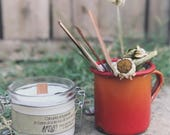 Natural vegetable candle ...