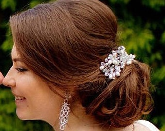 Bridal hair comb pearls, wedding hair comb, bridal headpiece, bridal hair piece, bridal hair accessories, wedding comb, haircomb