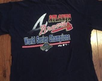 1993 World Series Champion Atlanta Braves t-shirt