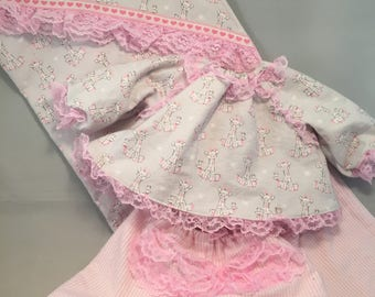 Baby doll clothes, Blanket