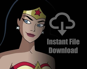 Wonder Woman - Original Art - Digital Download