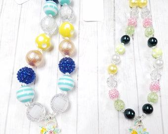 Anchor Bubblegum Necklace
