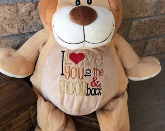 Personalized Stuffed Animal, Lion
