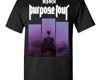Justin Bieber Purpose Tour 2017 ,v1, shirt Tee T-shirt  S - 5XL