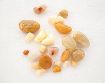 SEMI PRECIOUS STONES | English beach agate | Quartz crystals | Cra