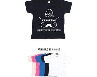 Moustache gracias shirt, mexican shirt, funny shirt, baby shirt, toddler shirt, mustache shirt, sombrero shirt, jokes shirt, mexican jokes