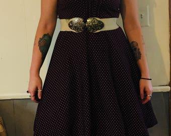 Perfect Vintage polka dot dress!