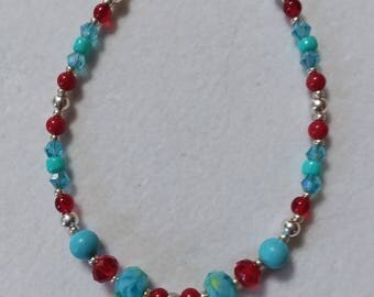 Starfish in Sand Dollar Bracelet