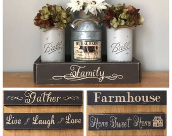 Milk Can Decor Farmhouse Kitchen Decor, Mason Jar Centerpieces Fall, Milk Bottle Decor, Dairy Cow Decor, Rustic Farm Decor Table Centerpiece