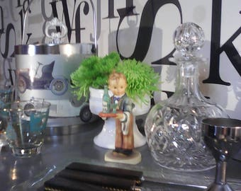 Vintage Crystal Decanter      FREE SHIPPING